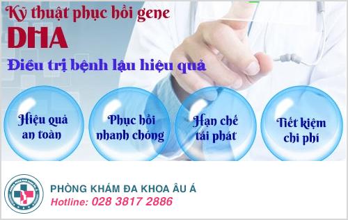 Phương pháp DHA chữa trị bệnh lâu an toàn và hiệu quả