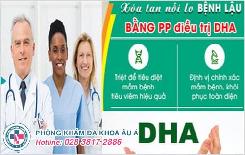 Cộng nghệ DHA chữa trị bệnh lậu an toàn và hiệu quả