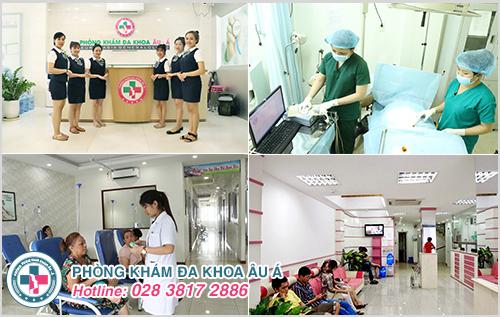 Đa khoa Âu Á chữa trị bệnh lậu an toàn và hiệu quả uy tín nhất TPHCM