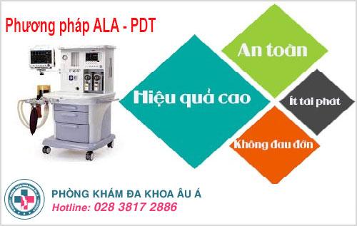 Phương pháp ALA - PDT hiện đại điều trị dứt điểm gai sinh dục đang được chuyên gia đánh giá cao